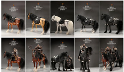 Mr.z Mrz058 1/6 Shire Horses Animal Figure Harness Display Statue Model Toy Gift