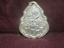 Sterling Vintage 1983 Towle First Year Christmas Ornaments 2 1/2 11g