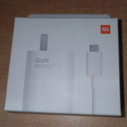 Xiaomi 55w Gan Fast Charger Wall Power Adapter Type-c Cable For Xiaomi Mi 11 New