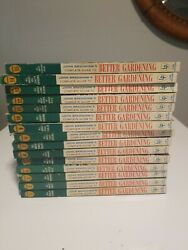 Lot Of 15 - John Bradshaw's Complete Guide To Better Gardening Book 1961 Set