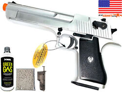 Airsoft Desert Eagle Style Blowback Pistol Gas Powered 350 Fps Semi-automatic