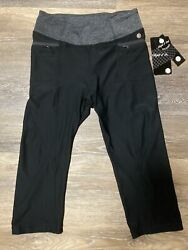 Nwt Athletica Objet Dand039 Art Fitness Yoga Gym Work-out Leggings Pants Womens Med
