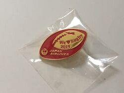 2019 Rugby World Cup Japan Pin Badge Sponsor Japan Airlines Pins