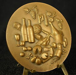 Medal The France To Your Table French Wine Cheese Food By R Vautier Medal 勋章