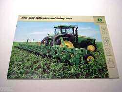 John Deere 400. 856 And 400 Row-crop Cultivators And Rotary Hoes Brochure 36 Page