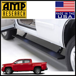 Amp Research Powerstep Electric Running Boards Fit 2015-2020 Gmc Canyon