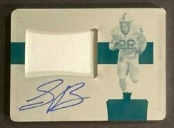 2018 National Treasures Saquon Barkley Rc Rpa Auto Jersey Patch Plate Ed 1 Of 1