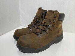 Wolverine Menand039s Potomac 6andrdquo Wp St Steel Toe Lace Up Work Boots | Used Size 10.5 M