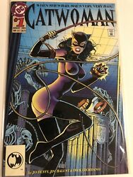 Dc Catwoman 1 1993 Bane Appearance And Catwoman Defiant