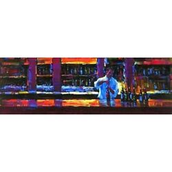 Michael Flohr Uncorked Hand Enhanced Giclee Canvas S/n-coa Sold Out -offer