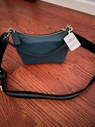 New With Tags Coach Dempsey Shoulder Bag Crossbody Teal $135.00