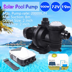 72v 88gpm Dc Brushless Water Pump Solar Water Pump For Fountain Pool 20,000l/h