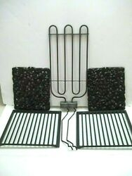 Jenn-air Electric Cooktop Grill Grates, Lava Rocks, Element Very Good Condition