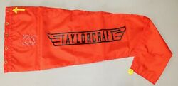 Custom Vintage Styled Taylorcraft Airport Windsock 13 X 60 Red