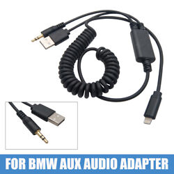 Cable Lead Usb Audio Aux Adapter Interface Iphone 5/6/7/8/x For Bmw 7 Series New
