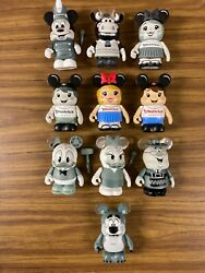 Disney 3 Vinylmation Lot/set Of 10 Mickey Mouse Club W/ Boy And Girl Variants