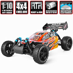 Hsp 110 Rc Nitro Gas Power 4wd Car Two Speed Off Road Buggy Remote Control Toys