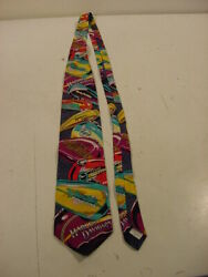 Neck Tie - 1993 Harley Davidson Tanks Ralph Marlin And Co Rm Style