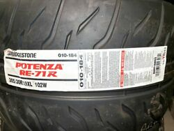 Bridgestone Re71r 305/30-r19 Set Of 4 High Perf Tires 200tw Traction And Temp A