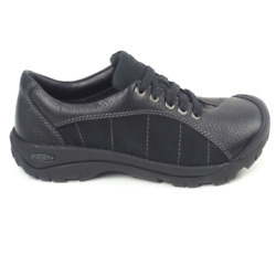 Keen Leather Lace-up Shoes Presidio Black