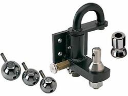 Ph 1 Bolt On Pintle Hitch W/3 Stainless Balls
