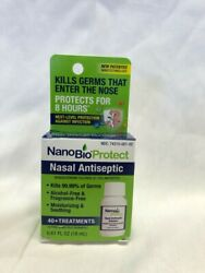 Nanobio Protect Nasal Antiseptic  reduces The Risk Of Respiratory Infection 8 Hr