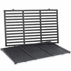 Cast Iron Cooking Grates For Weber Genesis 19.5in Eands 300 Series Grill Parts