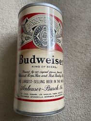 """Vintage Budweiser Beer Can Shaped Cooler 15"""" Westbend Usa Anheuser Busch Thermo"""