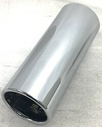 1 New Oem 2011-21 F-150 2019-21 Ford Ranger Chrome Plated Exhaust Tip Fits 3.5