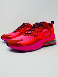 Nike Air Max 270 React Mystic Red Running Sneakers Ao4971-600 Menand039s Size 10.5