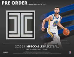 2020-21 Panini Impeccable Basketball Hobby Box - New Pre Order - Lamelo Rookie