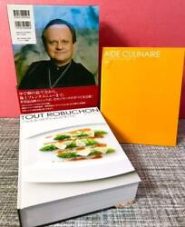 All Of Joel Robuchon Japanese French Cuisine Recipe Used cooking