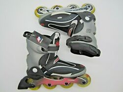 K2 Cadence Aluminum Frame Exo Tech Soft Boot Inline Skates Mens 10 New No Box