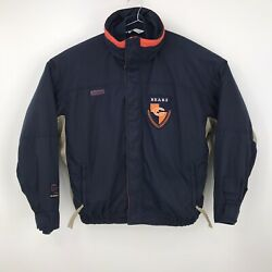 Vintage Nfl Chicago Bears Columbia 3 In 1 Convertible Jacket And Fleece Mens Xl
