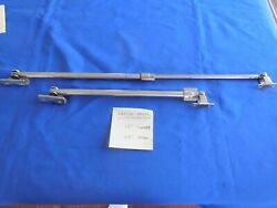 Vintage Chris Craft Boat 60's-70's Hatch/window Adjusters/props Stainless Steel