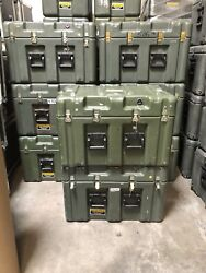 Pelican Hardigg Military Waterproof Lockable Storage Footlocker Prepper Special
