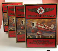 Set Of 4 Wings Of Texaco 1930 Travel Air Model R Mystery Ship No. 13 Airplanes
