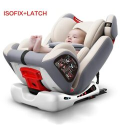 Isofix Child Car Safety Seat Reclining Car Portable Seat 0-12 Years Old Can