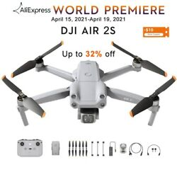 Dji Air 2s Drone With 1-inch Cmos Sensor Large 2.4μm Pixels 20mp Camera 12km