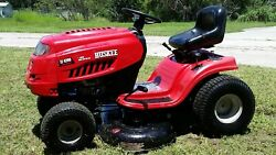 Mtd Huskee Lt 4200 Lawn Tractor 7 Speed 17.5 Hp Briggs And Stratton Engine Nice