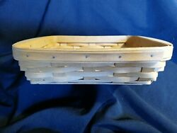 Longaberger Letter Tray. Bread Basket 2005 Excellent Condition Free Shipping