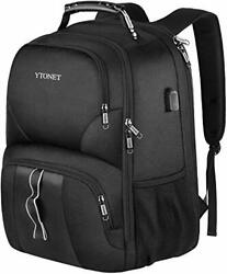 Travel Backpacks for Men Extra Large TSA Friendly Business Anti Theft Durable... $39.02