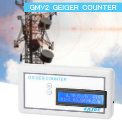 Geiger-muller Counter Nuclear Radiation Detector Monitor Meter Precise