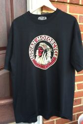 Vintage Indian Motorcycle America's First Motorcycle Pennsylvania T Shirt.