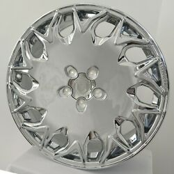 4 Wheels Gv06 20 Inch Chrome Rims Fits Jeep Grand Cherokee Limited 2014-2018