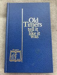 Old Timers Tell It Like It Was Ferndale Mi Historical Society Book