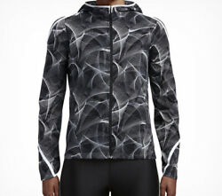 Nike Shield Impossibly Light Running Womenand039s Small Jacket Color Black/white