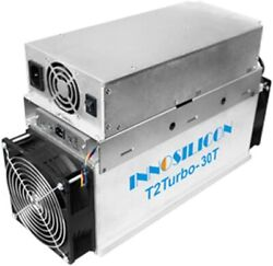 Innosilicon T2t 30th/s Bitcoin Miner Free Expedited Shipping