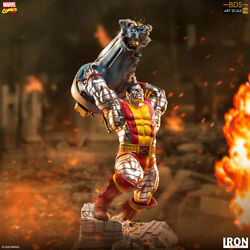 Iron Studios Marvel Colossus Bds Art 110 Scale Statue Figure New Sealed