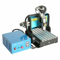 V0 110v 800w 3 Axis 3020 Cnc Router Engraving Drilling Milling Machine Usb Port